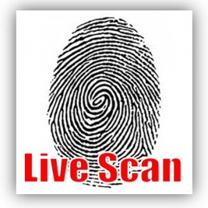 how to get a live scan